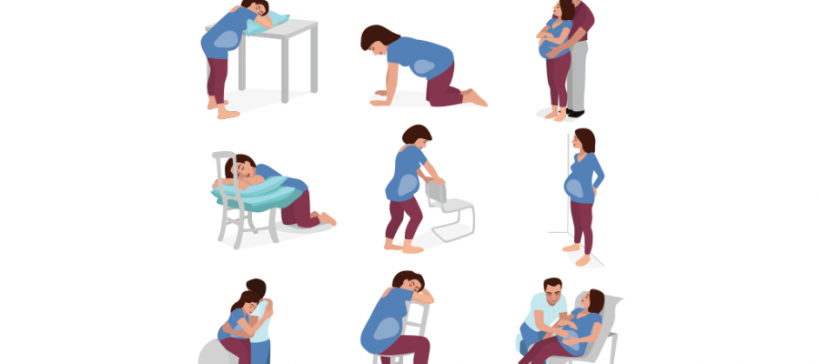 IMPORTANCE OF BODY POSTURES DURING PREGNANCY